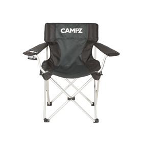 CAMPZ Aluminium - Sillas plegables - gris/negro